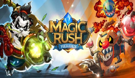 Magic Rush Heroes Apk Mod Unlimited Diamonds and Gold Generator
