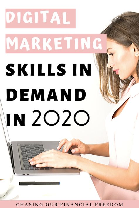 Digital Marketing skills in demand in 2020