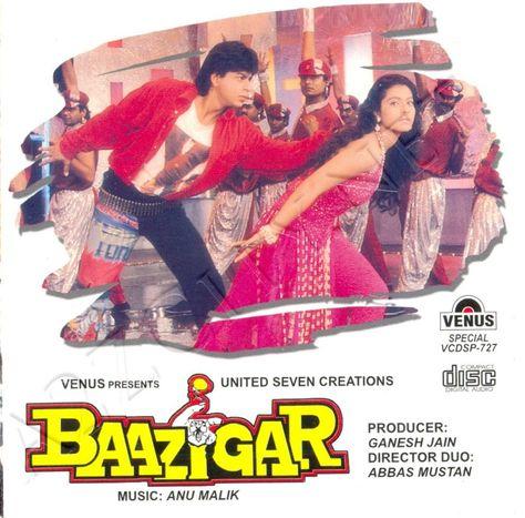 baazigar o baazigar mp3 songs free download 320kbps