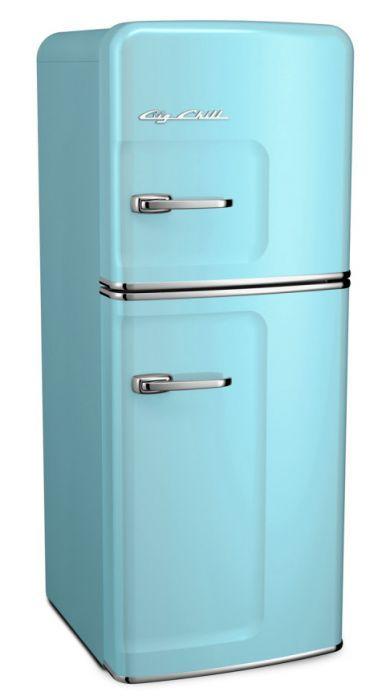 Slim Fridge In 2020 Retro Refrigerator Retro Home Decor Retro