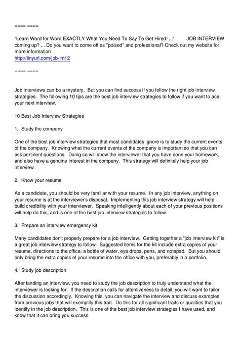 job interview thank you letter by ipadlessons7 via slideshare pro pinterest job interviews