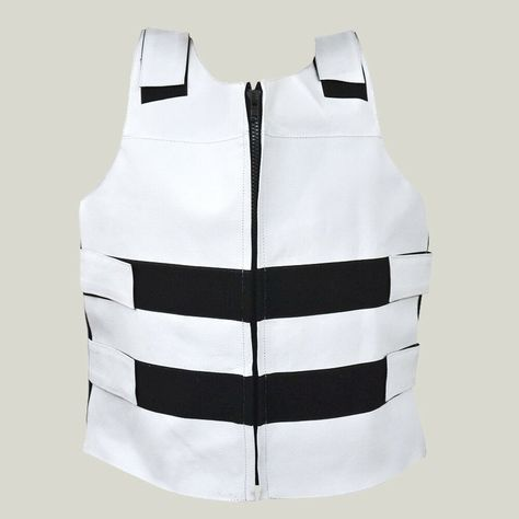 Men Bullet Proof style White Leather Motorcycle Vest for biker Tactical Vest #fashion #clothing #shoes #accessories #mensclothing #coatsjackets (ebay link)