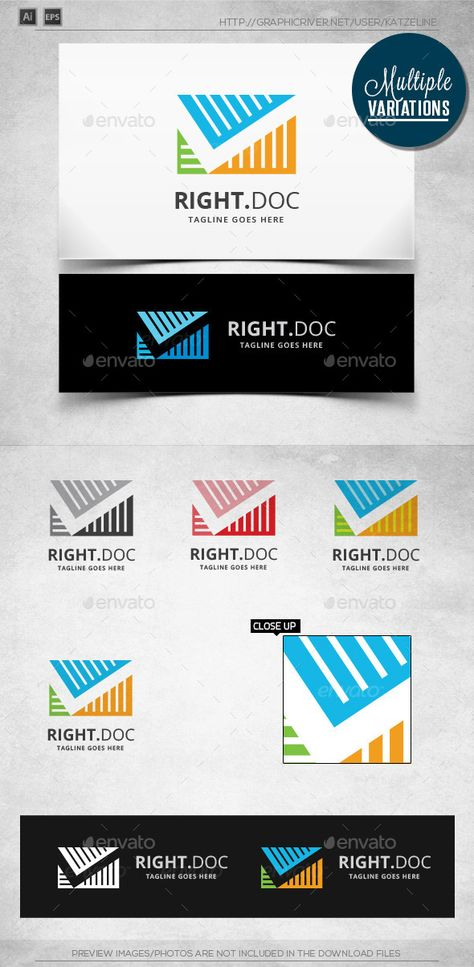 Right File - Logo Template