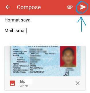 Cara Mengirim Surat Lamaran Kerja Via Email Di Hp Android Tulisan Surat Android