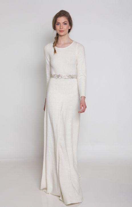 Long Sleeve Simple Dresses