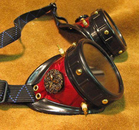 gorgeous diy steampunk goggles