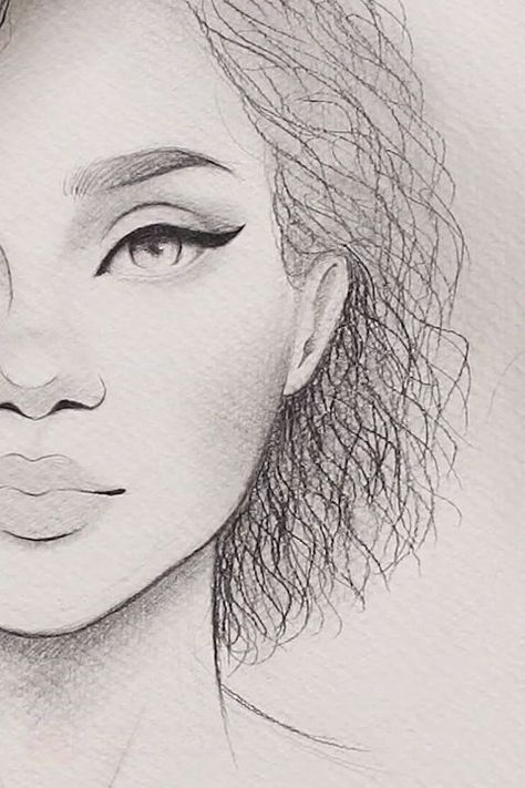 Drawing Curly Hair < Wow,  #Curly #drawing #Hair #Wow