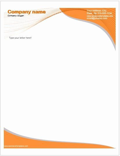 40 Microsoft Word Letterhead Template Letterhead Template Word