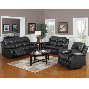 George Oliver Bauman Living Room Set Wayfair In 2020 Living Room Sets Living Room Leather Leather Living Room Set