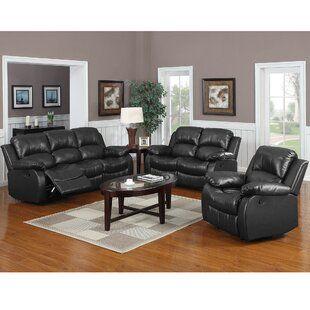 George Oliver Bauman Living Room Set Wayfair In 2020 Living Room Sets Living Room Leather Brown Living Room