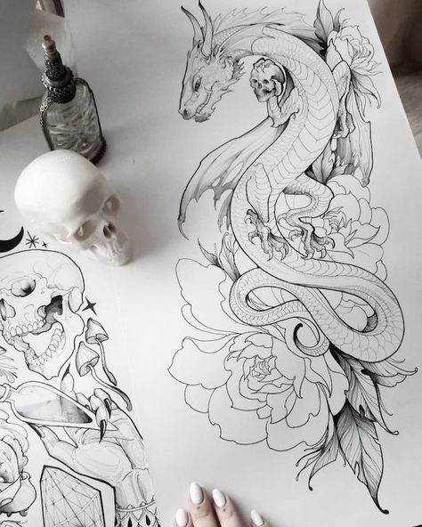 We have gathered 80 amazingly beautiful dragon tattoo ideas, inspired by everything from folklore tales to Game of Thrones. tattoo designs ▷ 1001 ideas and examples of the amazingly beautiful dragon tattoo