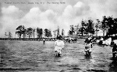 Wading Pond Lincoln Park Circa 1908 1915 Jersey City County Park Lincoln Park