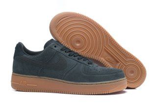 Mens Womens Nike Air Force 1 07 LV8 Suede Outdoor Green Gum
