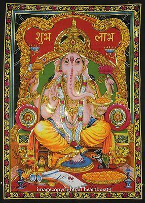Great Ganesha Tapestry Display