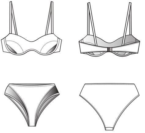 Pattern Construction for Bikinis › M.Mueller & Sohn