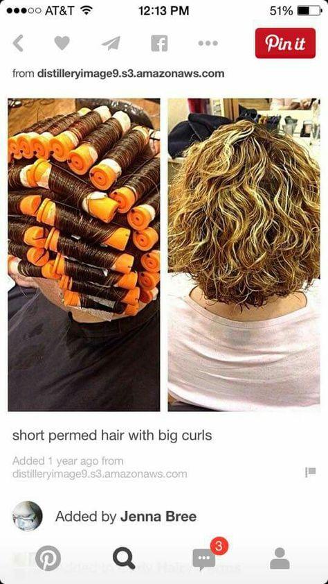 37 Perms For Short Hair Ideas Hair Curly Hair Styles Short Hair Styles