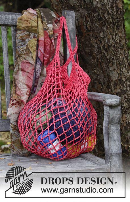 Sugar Mesh Drops 187 17 Halsband Med Bagar Arbetet Crochet Bag Virka Natkasse Crochet Pattern