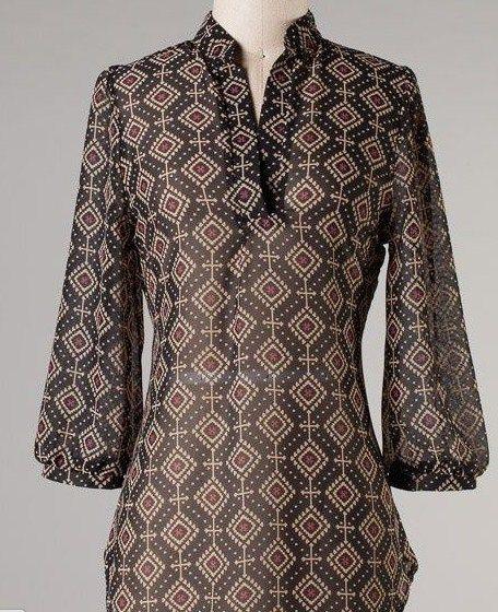 Model Baju Batik Kerja Wanita Terbaru Desainer Pakaian