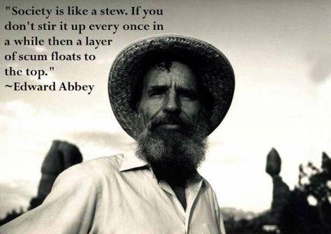 Top quotes by Edward Abbey-https://s-media-cache-ak0.pinimg.com/474x/a9/a6/81/a9a68102828af42441ddb0b0f503eed5.jpg