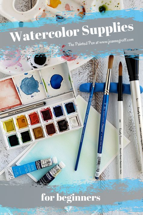 Watercolor Supplies For Beginners Watercolor Painting