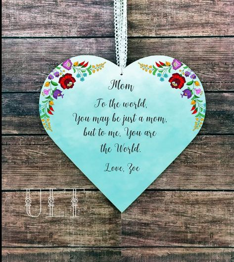 Mom Gift Personalized Christmas Mother From Daughter To Birthday Idea Mommy An