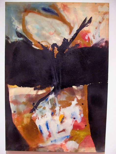 Helen Frankenthaler.  not sure if i like this or not.  but it makes me look