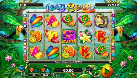 1 Can 2 Can 2 on valtava kolikkopeli netissä joka on Nextgen kehittääjä. Kolikkopelissa on suuret voitot, oikeasti hyvin bonuspeli ja suuret jettipottit jokaisille pelajalle. Pelissa on  rullat ja 25 voittolinjat.
