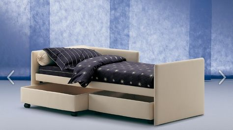 Letti Per Bambini Flou.Duetto Trundle Bed With Removable Cover Design By Flou Various