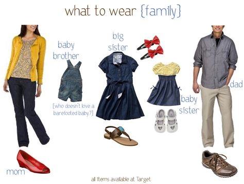 What to wear family inspiration
