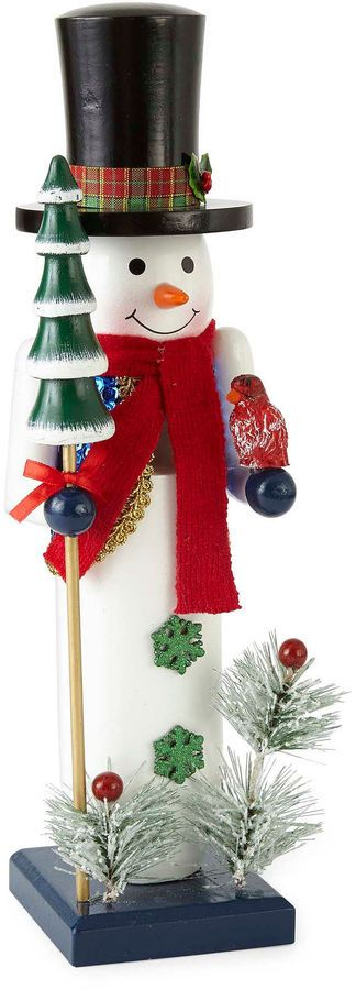 North Pole Trading Co. Christmas Cheer 14 Snowman Nutcracker. Click on the image to buy or get more info. #christmas #christmasdecor #ChristmasDecorations - christmas figurines | christmas figurines decoration | christmas figurines xmas | christmas figurines products | Christmas Figurines | CHRISTMAS FIGURINES | Christmas figurines |christmas decorations | christmas decorations for the home | christmas decorations apartment | Christmas Decorations |
