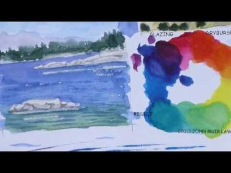 John Muir Laws on Watercolor Basics (9 of 9)
