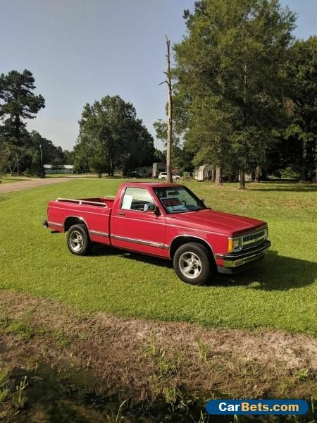 Car For Sale 1991 Chevrolet S 10