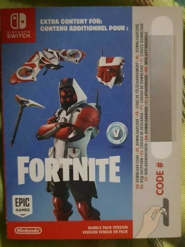 Nintendo Switch Fortnite Code Double Helix Skin, 1000 V-Bucks Code