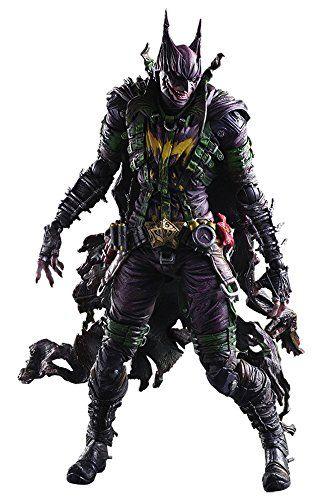 New Play Arts Kai Batman Rogues Gallery Joker Action Figure Toy No Box