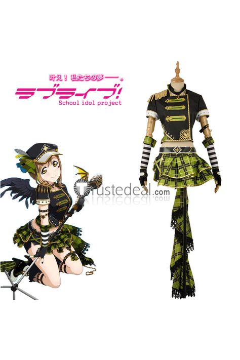LoveLive!Sunshine! 9 Characters Cosplay Costume Campus Idol Aqours Skirt Set