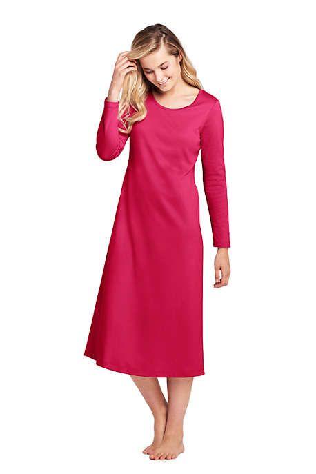 90edd12eb Women's Midcalf Supima Cotton Nightgown | present ideas - mom and ...