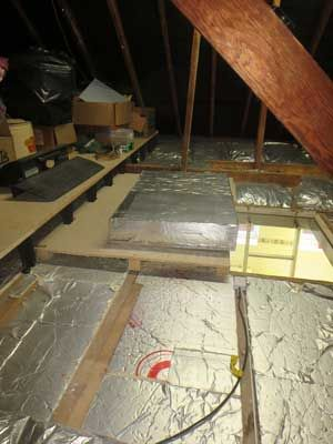 How To Board Your Loft Guide Step By Step Install Loft Insulation Diy Loft Conversion Loft Insulation Boarding Out A Loft