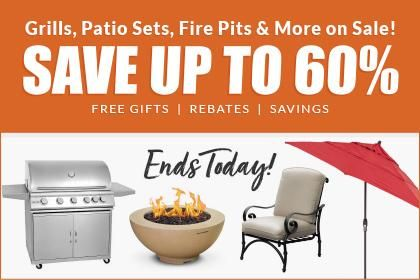 Grill Sales Sales On Outdoor Kitchens Smokers More Bbqguys Outdoor Kitchen Patio Heater Grill Sale