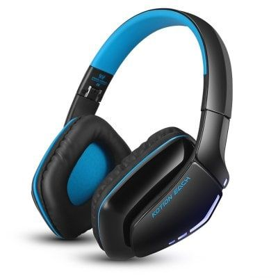 B3506 Blue And Black Gaming Headphones Sale Price Reviews Gearbest Mobile Gaming Headphones Ps4 Wireless Headset Wireless Gaming Headset