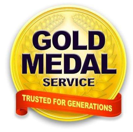 Gold Medal Service Plumbing Heating Cooling Electric Drain Cleaning And Waterproofing Services Drain Cleaner Gold Medal Drain Cleaners