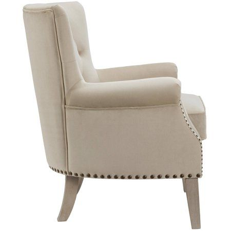 Better Homes And Gardens Rolled Arm Accent Chair Beige