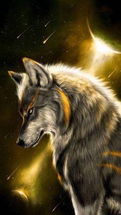 Fantasy Wolf Fans Follow Saveg Fans Fantasy Follow Saveg Wolf Wolf Wallpaper Wolf Art Wolf Painting