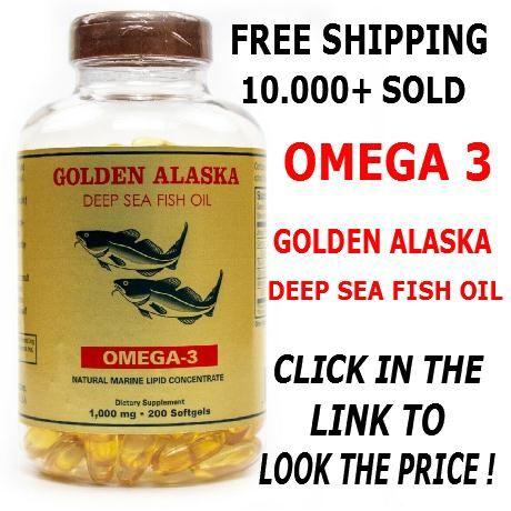 Details About Alaska Deep Sea Fish Oil Omega 3 Dha Epa 1000 Mg 200