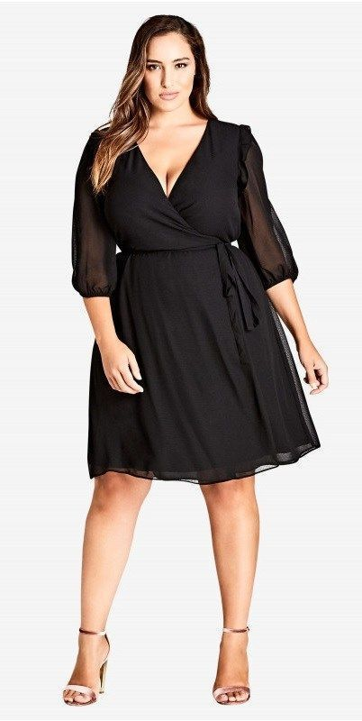 40 Plus Size Spring Wedding Guest Dresses {with Sleeves | The Plus ...