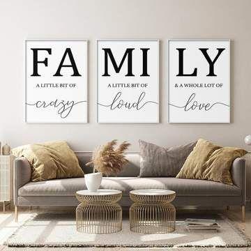 Family Canvas Set