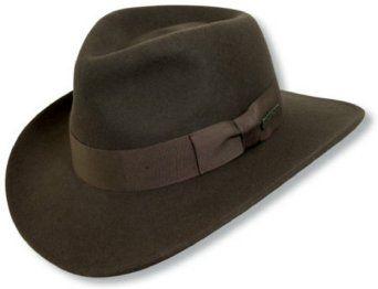 Indiana Jones® Crushable Wool Hat  Amazon.com  Clothing  f4ce8c00355