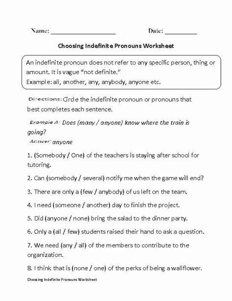 Pronoun worksheets pdf Useful