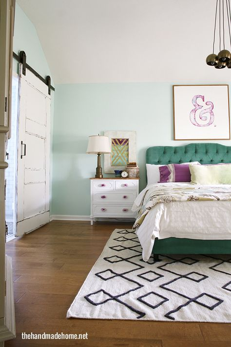 bedroom reveal | the handmade home