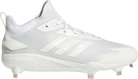 a126434270d64 adidas Men's adiZERO Afterburner V Dipped Metal Baseball Cleats, White