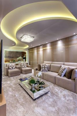 Simple False Ceiling Designs For Hall And Living Room Pop